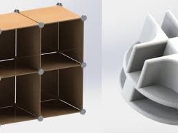 modular shelving system by spacejunkie9 thingiverse