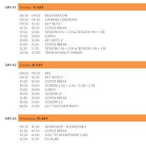 Dinner Party Agenda - conference agenda icidm 2017