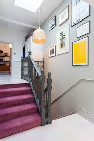 Painting Banister Spindles Painted Banister Ideas Staircase Traditional With Equestrian Art