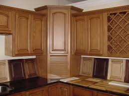 Flat Kitchen Cabinets Cabinets U0026 Drawer Brown Corner Kitchen Cabinet Wall Flat Paneled