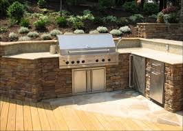 kitchen outdoor kitchen tile built in bbq ideas outside kitchen