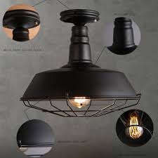 ceiling fan industrial style classic black fan shaped ceiling