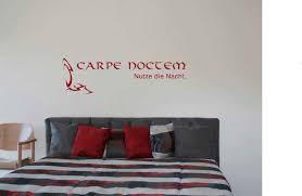Schlafzimmer Wandtattoo Carpe Noctem Wandtattoo Online Kaufen Bei Pimp Myhome