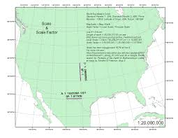 Map Scales Scale And Scale Factor The Curious Gis