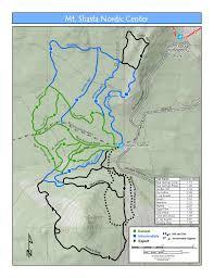 Mount Sac Map Outdoor Adventures The Mccloud Cabin