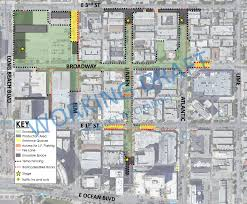 Parking Restrictions Los Angeles Map by Tentative Parking Restrictions Street Closures For Inaugural