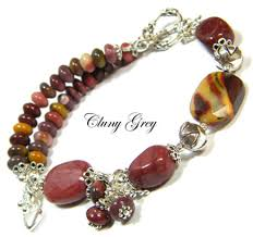 bracelet gemstone images Gemstone bracelets cluny grey jewelry jpg