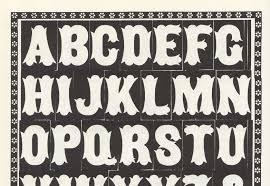 80 free wood type alphabets webdesigner depot