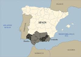 France On Map Iberian Peninsula On Map My Blog