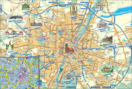 Regensburg Germany Map by City Maps