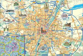 Munich Germany Map by City Maps