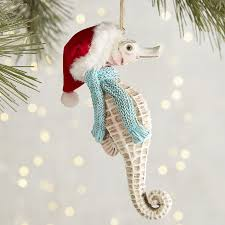 ornaments seahorse ornament waterford