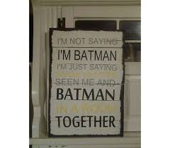 signs and decor batman sign wood sign signs batman collectors