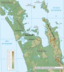 New Zealand Map Map New Zealand Map Auckland Region Worldofmaps Net Online