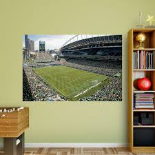 seattle sounders fc stadium corner view mural wall decal shop seattle sounders fc stadium corner view fathead wall mural