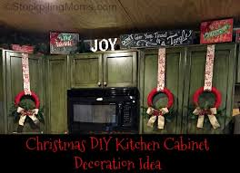 diy kitchen cabinet decorating ideas diy kitchen cabinet decoration idea jpg