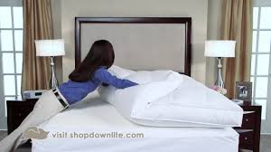 Feather Bed Topper How To Fluff Your Feather Bed Downlite Youtube