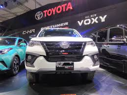 toyota fortuner toyota fortuner trd sportivo launch by september end