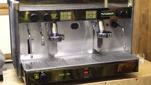 futurmat espresso machine 2 group youtube