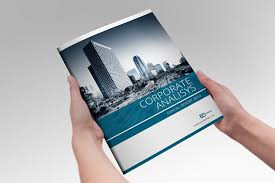 ind annual report template annual report indesign template brochure templates creative market