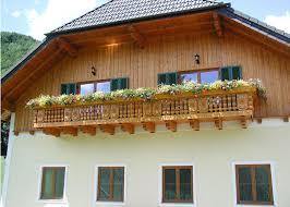 balkone holz holz tradition dachstein leeb balkone und zäune