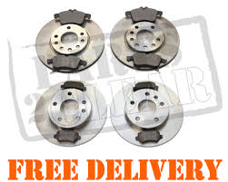 vauxhall astra 2007 vauxhall astra h 2005 2011 front u0026 rear brake discs pads set