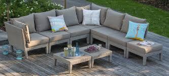mobilier exterieur design salon jardin design pouf exterieur terrasse moderne photos