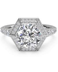 vintage style engagement rings 47 stunning vintage engagement rings martha stewart weddings