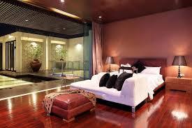 floor master bedroom interior courtyard garden home