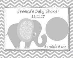 baby shower scratch baby shower scratch etsy