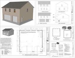 1 5 Car Garage Plans 40 40 Garage Plans Xkhninfo