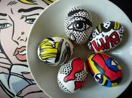 Decorating Easter Eggs With Markers by Preppy Island