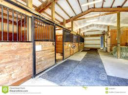 horse farm stable shed interior stock images image 24498904 doors farm horse interior