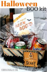 halloween boo kit with printable easy halloween walmart and