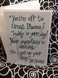 college graduation cards dr seuss quote graduation card by soinspiredbylife on etsy