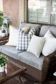 Grey Wicker Patio Furniture by Best 25 Hampton Bay Patio Furniture Ideas On Pinterest Porch