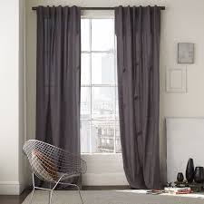 Royal Velvet Curtains Cotton Canvas Curtain White West Elm