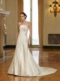 london wedding dresses strapless ruffle empire satin wedding dress on sale hot strapless