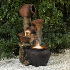 alpine four pitcher pouring indoor outdoor water fountain hayneedle