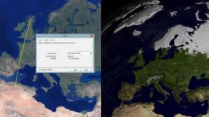 Distance Between Two Points Map There Is 2500km 1500miles Between A Snow And Desert Biome