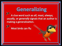 generalization lessons tes teach