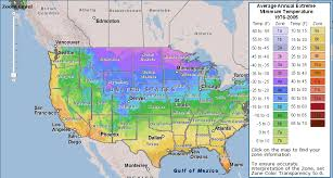 Gardening Zones Usa Map - planting zones for the us and canada the old farmers almanac