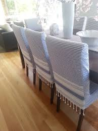 Dining Chair Cover Exciting Blue Dining Room Chair Covers 59 For Your Glass Dining