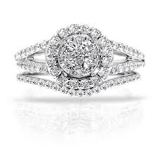 engagement and wedding ring set four stunning new diamond engagement ring and wedding band sets