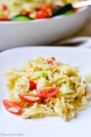cucumber tomato orzo pasta salad renee nicole u0027s kitchen