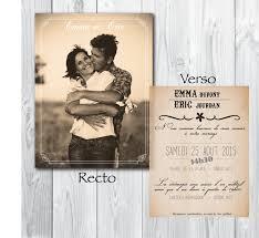 faire part mariage avec photo faire part mariage personnalisé photo modèle de lettre