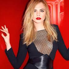 cara delevingne sports bold make up looks from the yves saint