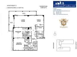 balmoral floor plan balmoral bal harbour condos for sale bal harbour