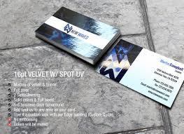 los angeles spot uv business card printing spot uv business