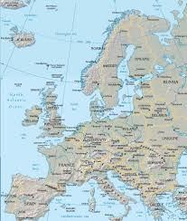 Map Of Europe And Asia by Map Of The European Region